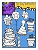 Whimsy Birthday {Creative Clips Digital Clipart}