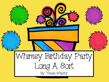 Whimsy Birthday Party