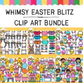 Whimsy Clips Blitz EASTER Clip Art Bundle