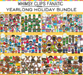 Whimsy Clips Fanatic: 2020 HOLIDAY Clip Art Bundle