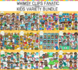 Whimsy Clips Fanatic: 2020 KIDS Variety Clip Art  Bundle