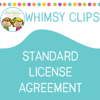 Whimsy Clips Standard License Agreement