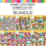 Whimsy Clips Tidbits: Summer Clip Art Bundle