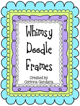 Whimsy Doodle Decorative Frames