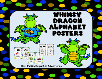 Whimsy Dragon Alphabet Posters