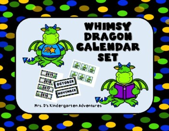 Whimsy Dragon Calendar Set