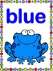 Rainforest Frog Color Posters (Classroom Decor) Whimsy Workshop Teaching