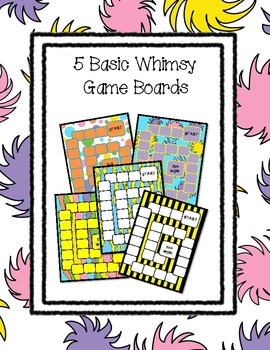 Whimsy Game Boards