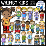 Whimsy Kids Clip Art (20 Kid Bundle) Whimsy Workshop Teaching