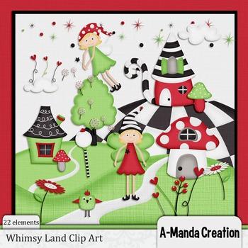 Whimsy Land Clip Art