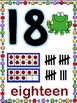 Whimsy Number Posters 0-20(Classroom Decor) Whimsy Workshop Teaching