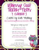 Whimsy Owl Teacher Note Set {Editable}