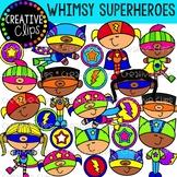 Whimsy Superhero Kids {Superhero Clipart}