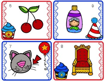 Whimsy Wacky Birthday Digraph Activities