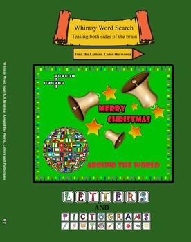 Whimsy Word Search, Christmas Around the World, Letters and Pictograms