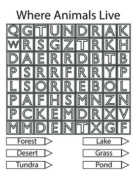 Whimsy Word Search Coloring Book, Large Print, Letters