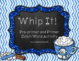 Whip It! Winter Sight Word Practice