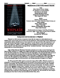 Whiplash Film (2014) Study Guide Movie Packet