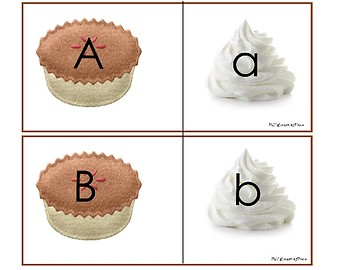 Whipped Cream on The Pie: Letter Recognition