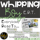 Whipping Boy Reading Activity ERT Questions