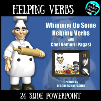 Helping Verbs PowerPoint Lesson