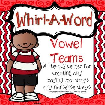 Vowel Team Literacy Center