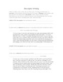 Whirligig by Paul Fleischman: Objective & Subjective Description
