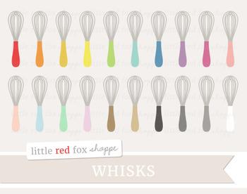 Whisk Clipart; Kitchen, Baking, Cooking, Utensil