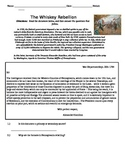 Whiskey Rebellion Handout