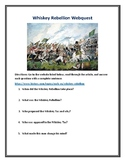 Whiskey Rebellion Webquest (With Answer Key!)