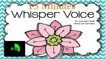 Whisper Timer
