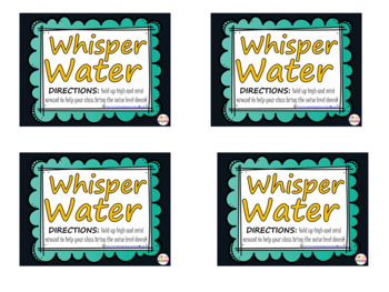 Whisper Water ACTIVITY & PRINTABLE
