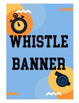 Whistle Banner