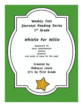 Whistle For WIllie Journeys Assessment