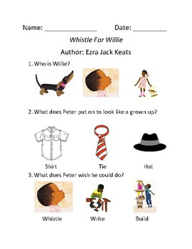 Whistle for Willie Comprehension Assessment