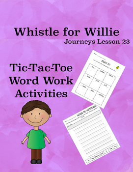 Whistle for Willie Journeys Lesson 23