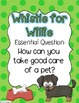 Whistle for Willie Journeys Lesson Plans and Supplemental