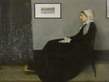 "Whistler's Mother - Recreate the ""Whistler's Mother"" Painting"