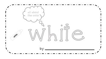 White Activity Book!