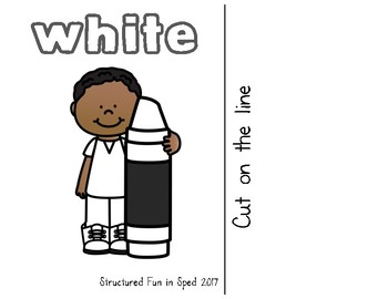 White Adapted Book