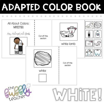 White: Adapted Colors Book