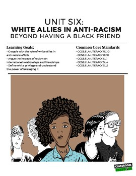 White Allies in Anti-Racism