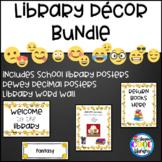 White Background Emoji Library Decor - BUNDLE