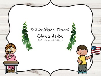White Barn Wood Class Jobs
