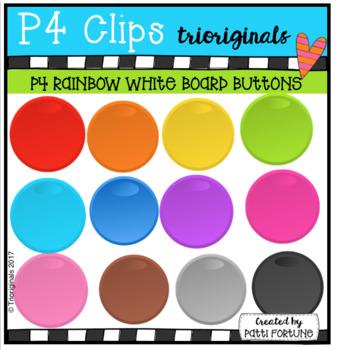 White Board Buttons (P4 Clips Trioriginals Clip Art)