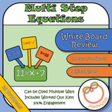 White Board Review: Solving Multi-Step Equations (Google Slides)