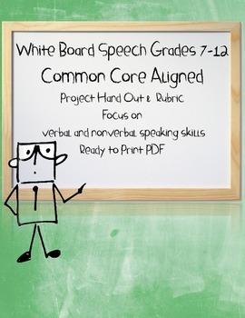 White Board Speech
