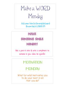 White Board Wisdom Cards