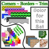 White Borders Trim Corners *Create Your Own Dream Classroo