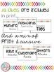 White & Bright Math Manipulative Labels